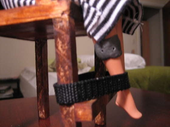 Student Makes Barbie an Electric Chair for Science Fair Project