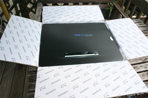 Samsung BD-P1000 Unboxing