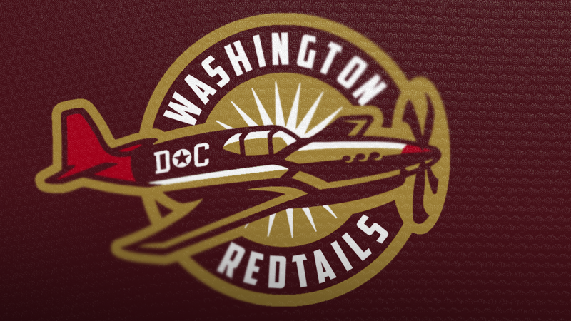 Photoshop Contest: Let's Rebrand The Washington Redskins