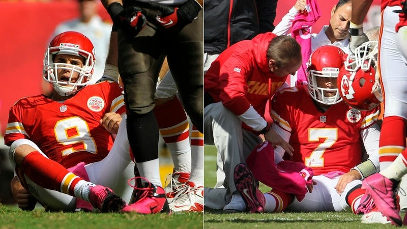 There Is An Awful, Awful Quarterback Controversy In Kansas City