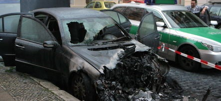 Dozens Of Luxury Cars Torched In German Arson Spree