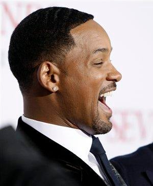 Will Smith Donates 'Seven Pounds' to Us, Six Figures to Scientology