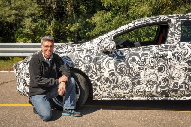 How Automakers Use a WWI-Era Camo Technique to Disguise Prototype Cars