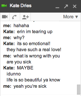 I'm Concerned About Kate, Guys