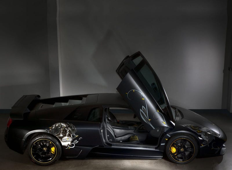 EDO-Tuned Lamborghini LP710 Audigier Mixes High Speed With Questionable Style