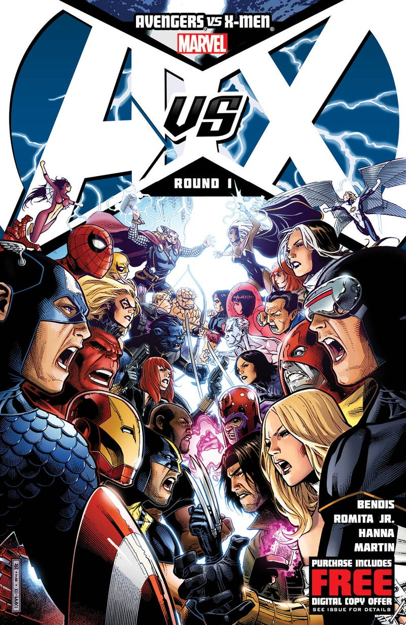This Preview of Avengers vs. X-Men #1 Reads Like a Fighting Game That Needs to Happen