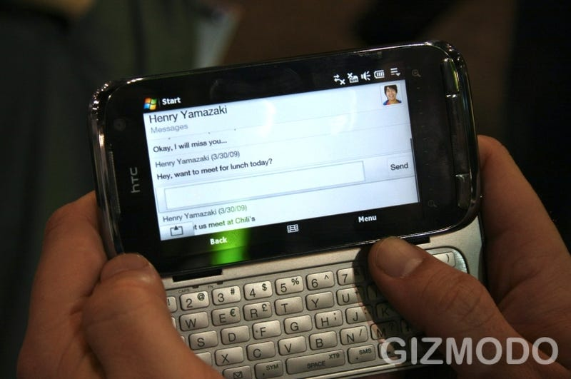 Hands-On HTC Touch Pro 2: HOT ITEM! BUY NOW! NICE SCREENS and BIG KEYBOARDS!!! (UPDATE GALLERY UPDATE)