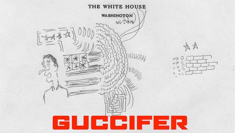 Here's Some New Hacked Presidential Art From The Clinton White House