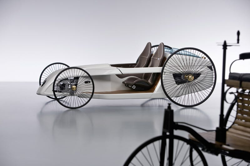 Mercedes F-CELL Roadster: Hydrogen-Powered Buggy Concept