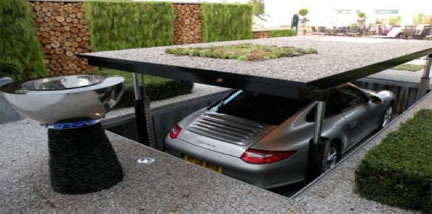 12 Robotic Garages Worthy of a Bond Villain