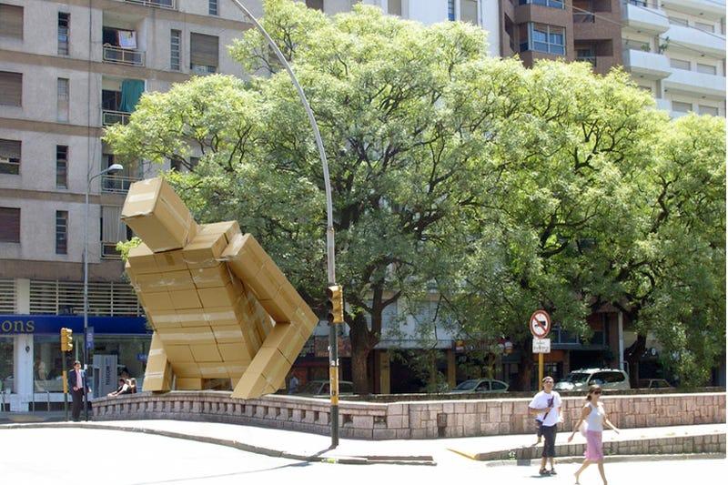 Beware the cardboard kaiju of Argentina