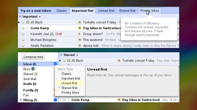 Gmail Now Lets You Choose Your Favorite Inbox Style