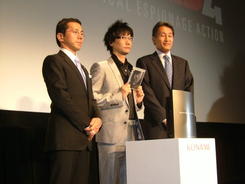 Kojima Ready For New Things, Thinks Lucas Is A Genius
