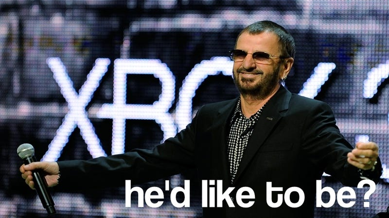 Ringo Starr Ready To Drum Out A Video Game?