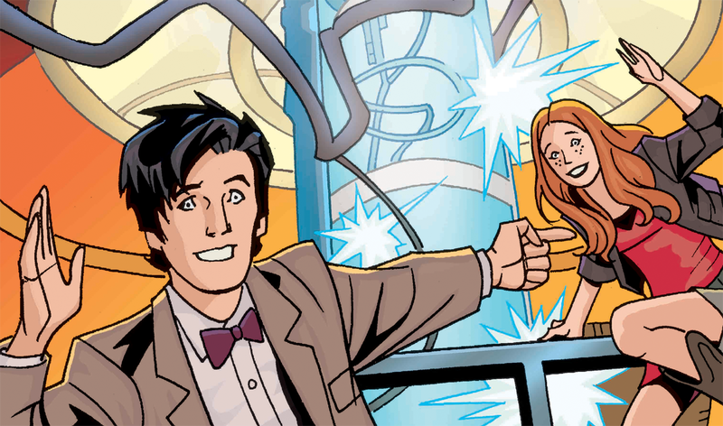 Russell T. Davies pitched a Doctor Who graphic novel, was turned down