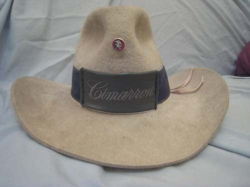 For The Well-Dressed Judge: Turbo Cimarron Cowboy Hat!