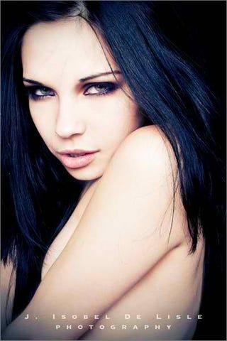 Blue-Black Hair