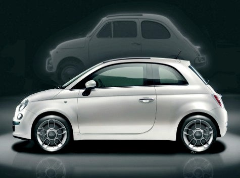 Fiat 500 Arrives, But Not for US