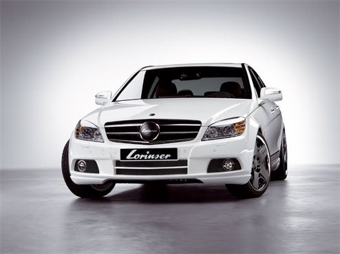"Lorinser Tunes C-Class Up To 305 HP, Makes It ""Hot"""