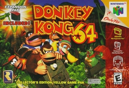 "Rare: 'Who Knows"" Why Donkey Kong 64 Hasn't Hit the VC"