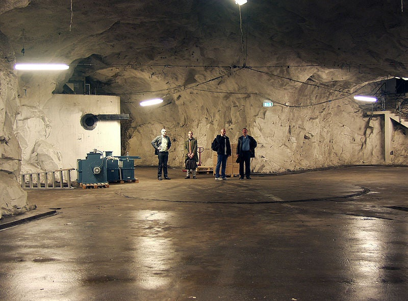 This Is the Nuclear Bunker Where Wikileaks Will Be Located