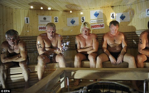 Finland's World Sauna Championships Marred by Death of Finalist