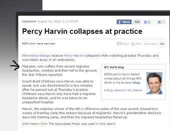 Percy Harvin Collapses, Has Name Changed