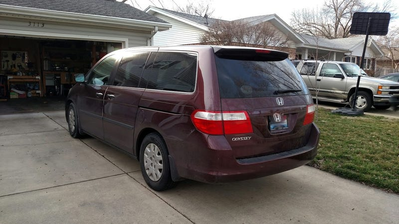 2007 honda odyssey lx the oppo review. Black Bedroom Furniture Sets. Home Design Ideas