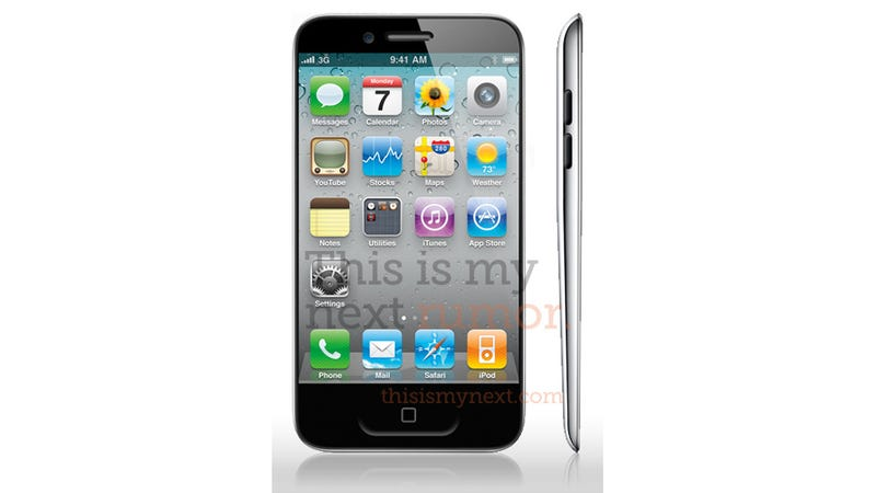 The iPhone 5 Looks Weird (If This Is What It Looks Like)