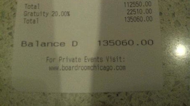 One Armand De Brignac Nebuchadnezzar For Only $100,000! An Unscientific Analysis Of The Zac-Efron-And-Heather-Graham-Inspired Chicago Bar Bill