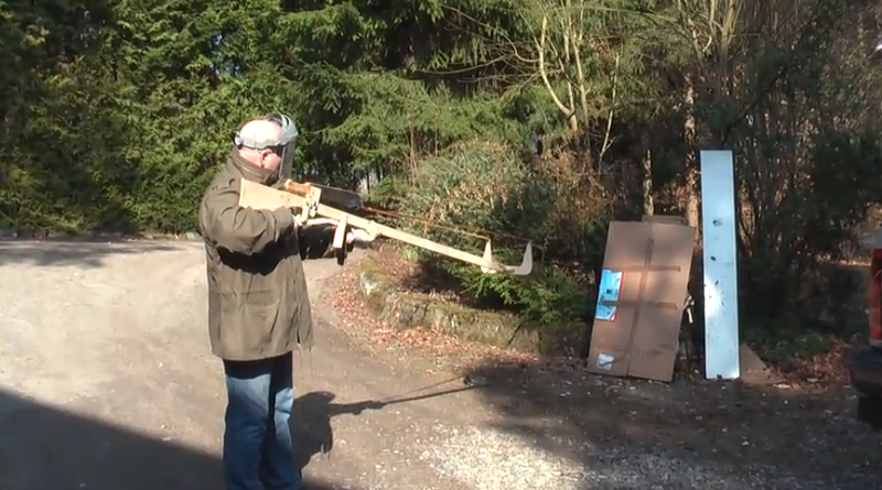 The Crossbow Machete: The Most Badass Way To Accidentally Kill a Family Member