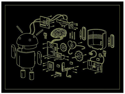 Exploded Android Reveals the Robotic Heart Behind Google