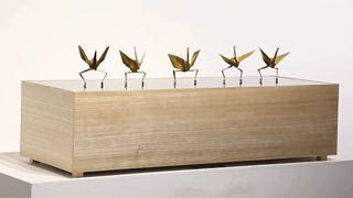 Watch Synchronized Dancing Paper Cranes Shake Their Origami Tails Off