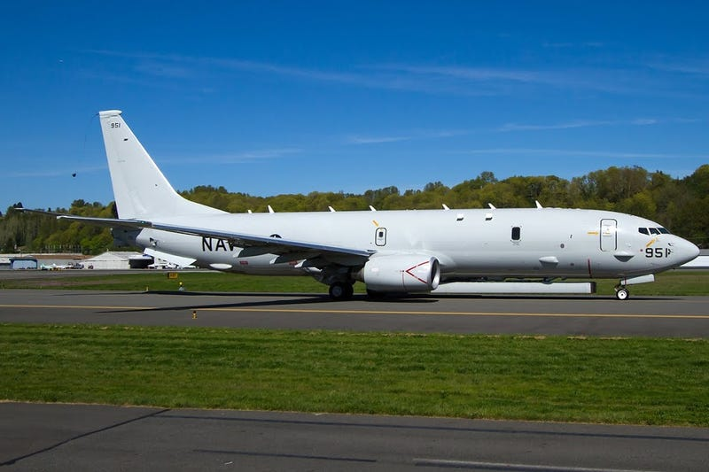 Exclusive: P-8 Poseidon Flies With Shadowy Radar System Attached
