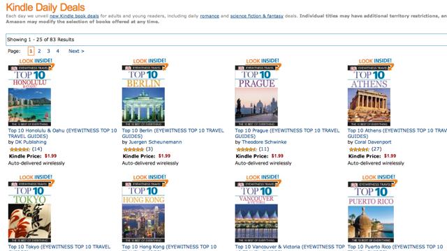 Amazon's Got DK Eyewitness Travel Books for 2 Bucks