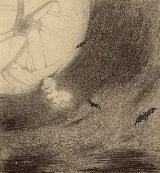 These Century-Old Drawings Show Humanity's Deepest Fear: Alien Invasion