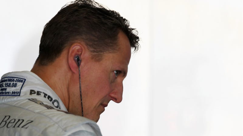 Michael Schumacher Taken To Hospital With Head Injury