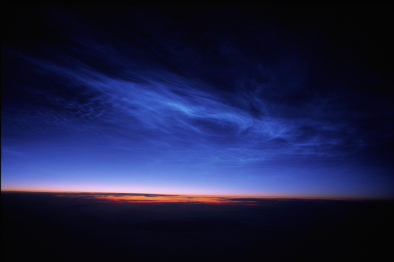 These Glowing Clouds at the Edge of Space Are Gorgeous