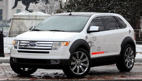 Energy Policy: Ford Reveals HySeries Hybrid Edge Concept