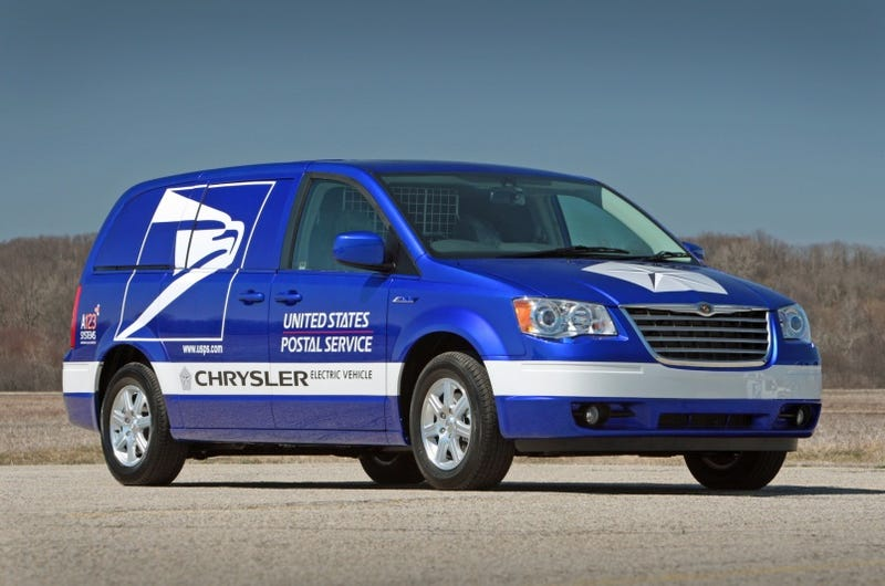 Chrysler Electric Postal Van Concept: The Pony-Up Express