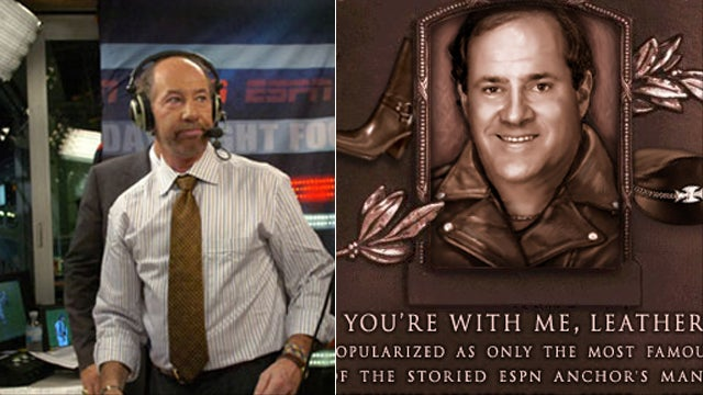 "Chris Berman On You're With Me, Leather: ""Mr. Kornheiser Chose To Run With It."""