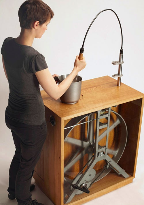 Kitchen Concept Uses Pedal-Power to Grind Beans, Blend Soups and Save the Planet