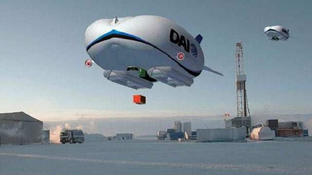 The $40 Million Delivery Blimp
