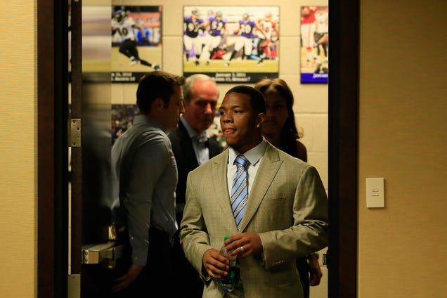 Reports: Ray Rice Suspended Two Games For Uppercutting Fiancée