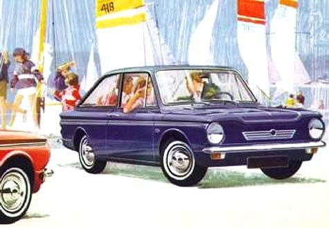 Surf's Up! The Hillman Imp Californian