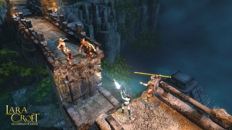 First Lara Croft and the Guardian of Light Screens, Details