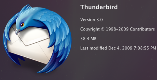 Thunderbird 3 Officially Released with New Features, Improved Look