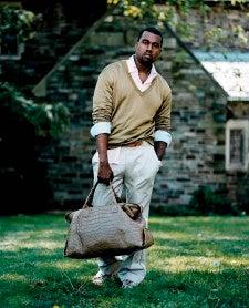 Kanye West Loves Deodorant, Has Dandruff