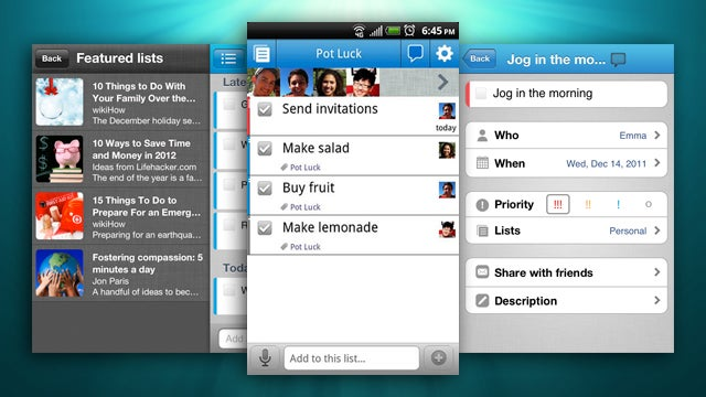 To-Do Manager Astrid Updates Android and iOS Apps with a New UI and Featured Lists