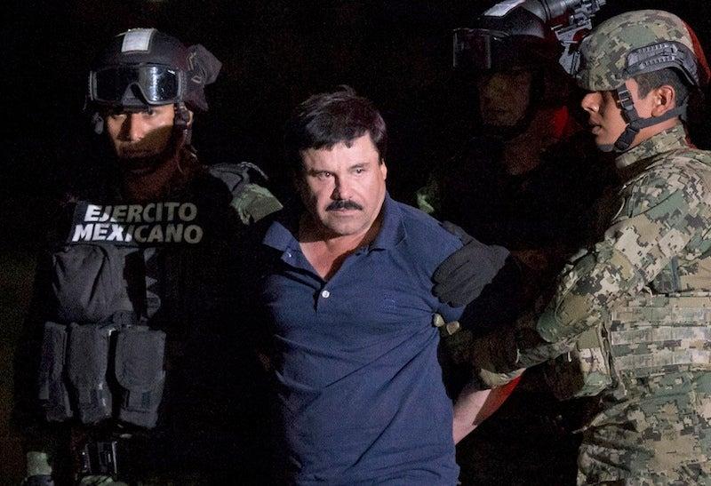 Clothing retailer Barabas uses 'El Chapo' drug lord to market shirts